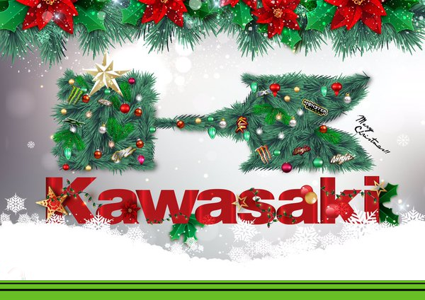 Kawasaki happy new year