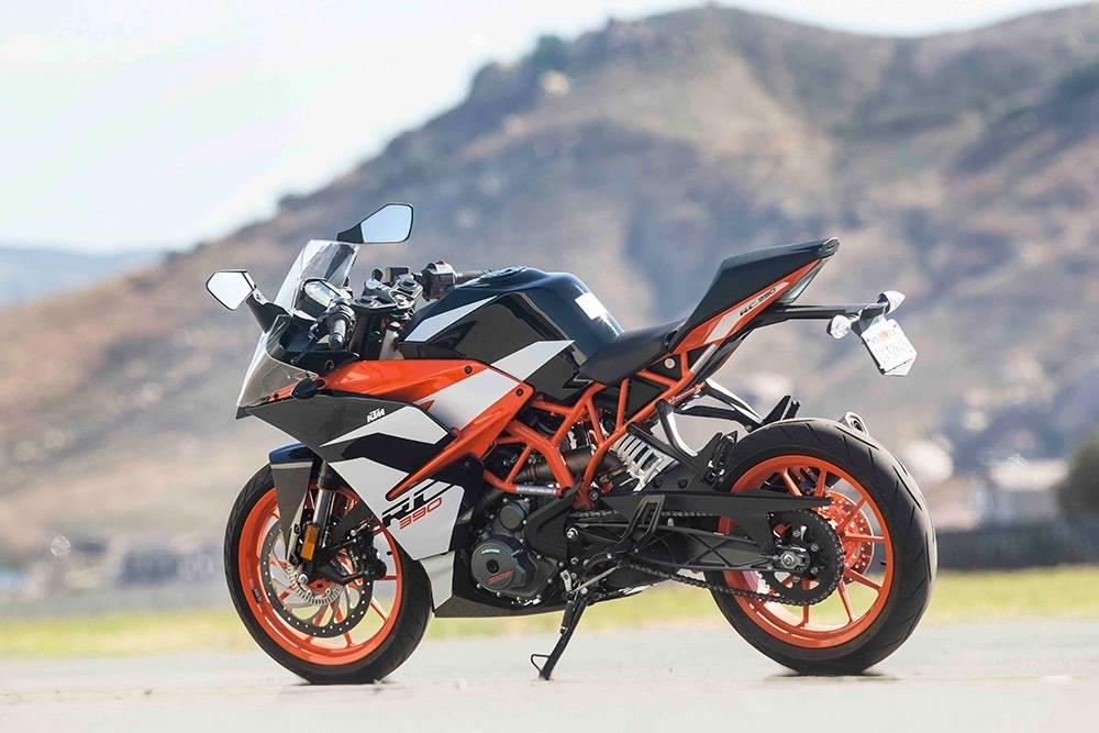2018 ktm rc390 beauty