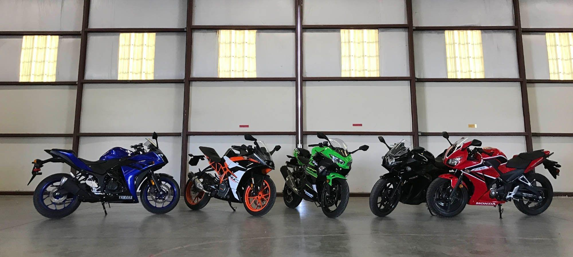 2018 small sportbike hangar hero